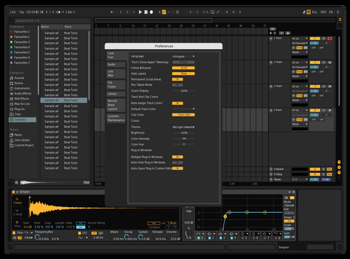Dark 2 Theme for Ableton 10 by rillidan
