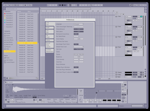 Pastel (jim) Theme for Ableton 10 by jahi thomas