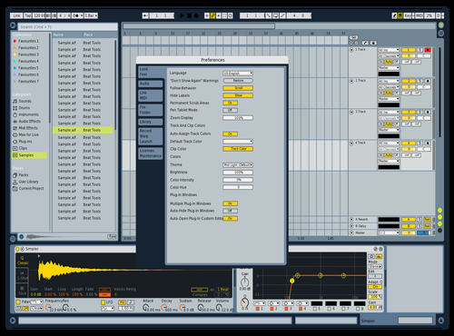 Live8Remix Theme for Ableton 10 by Jorge Garcia