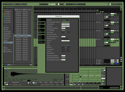 Military Theme for Ableton 10 by riccardo garetto
