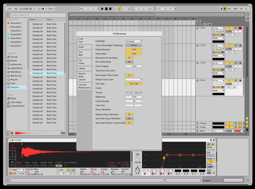FoxofficialLight Theme for Ableton 10 by Maxim
