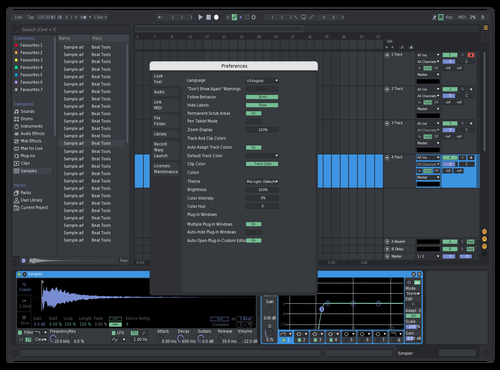 Discord Dark Theme for Ableton 10 by Bruce