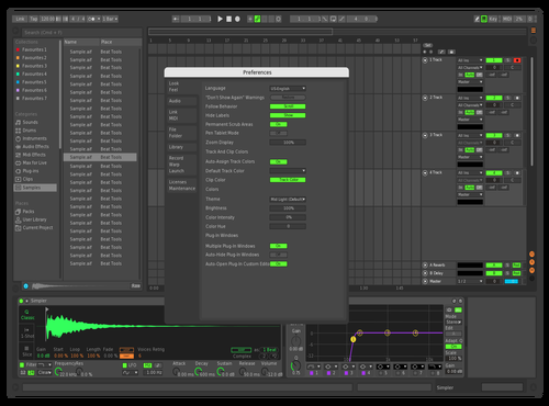 ALULIM2 Theme for Ableton 10 by Michael Horák