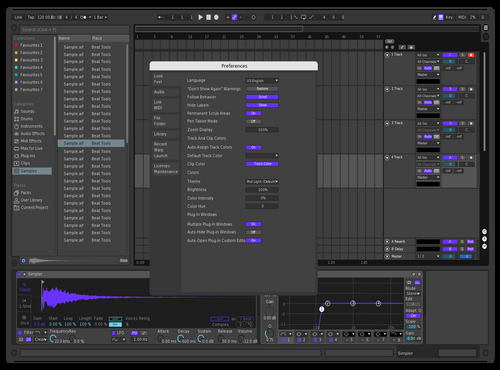 Test Theme for Ableton 10 by soji