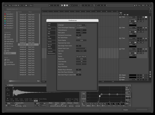 Grey test Theme for Ableton 10 by illest