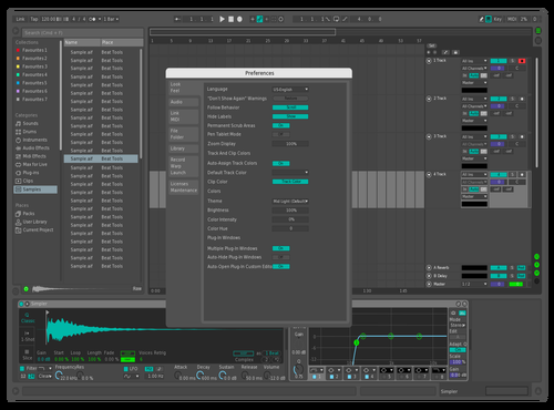 Banan Theme for Ableton 10 by Stijn de Groot