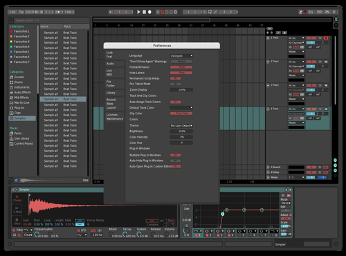 Redd Teal Theme for Ableton 10 by Opak None