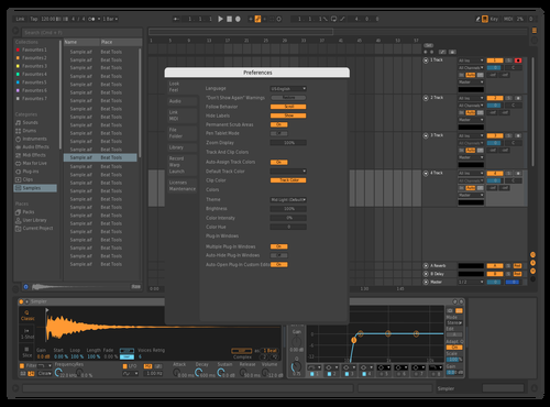 Wolsky_dark Theme for Ableton 10 by wolsky