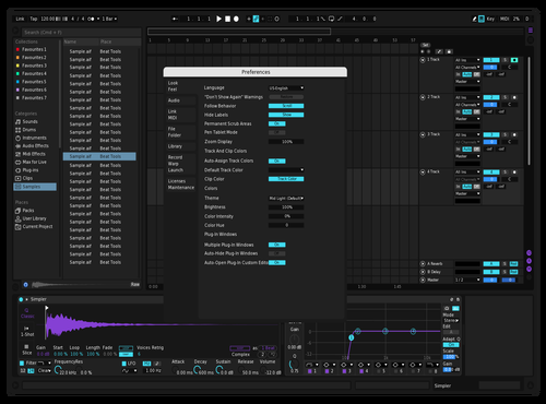 Eh Theme for Ableton 10 by Reaver