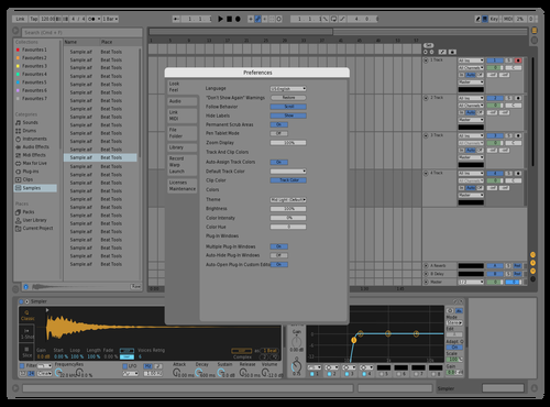 LIGHT TEST Theme for Ableton 10 by stefr