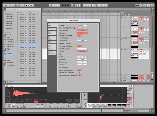 Test Theme for Ableton 10 by eric