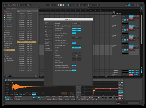 Derpcat Ableton skin Remake Theme for Ableton 10 by Rick