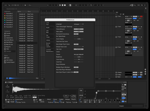 OSX DARK MODE 2020 Theme for Ableton 10