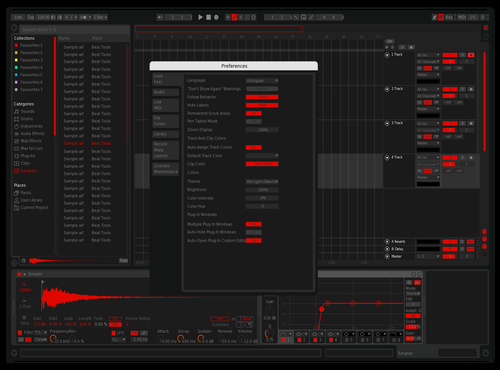 Redtube_ph remixed Theme for Ableton 10 by RED19