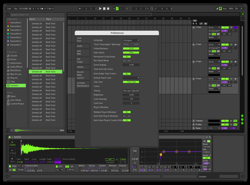 MIDN!GHT_EVATHEME Theme for Ableton 10 by MIDN!GHT