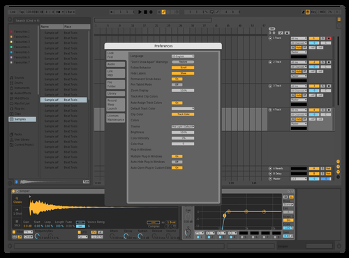 Test 3 Theme for Ableton 10 by yoo