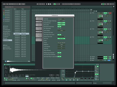 FL STUDIO Theme for Ableton 10 by Cedric Swan