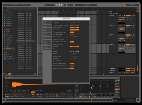 Alienware Theme for Ableton 10 by ggh