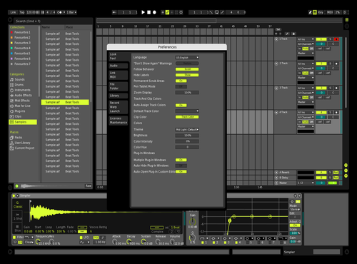 Lime Theme for Ableton 10 by lvcifer