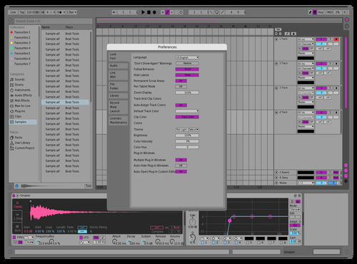 Justwafid Theme for Ableton 10 by wafid