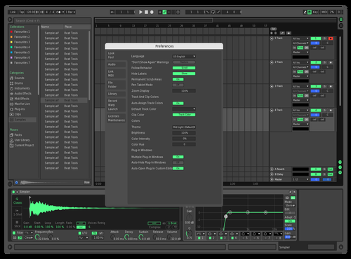 Test Theme for Ableton 10 by CryoniK