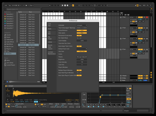 Bars and Beats 2 Theme for Ableton 10 by jesse brand