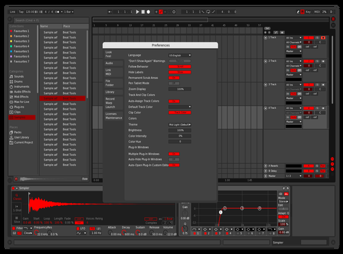 DDAAFS Theme for Ableton 10 by sasss
