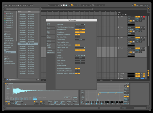 DefDarkDef Theme for Ableton 10 by david