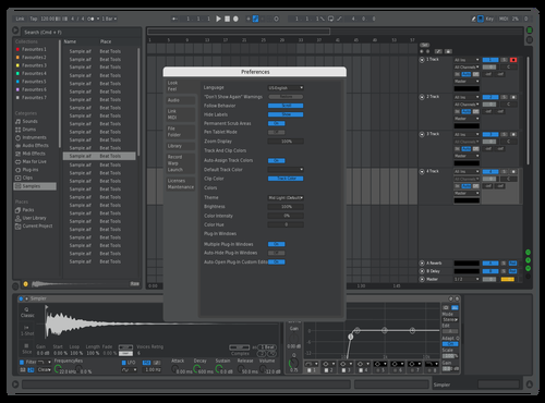 LogicProX Theme for Ableton 10 by Mathew Vaughan