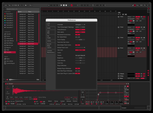 SuWoo Theme for Ableton 10 by Spencer