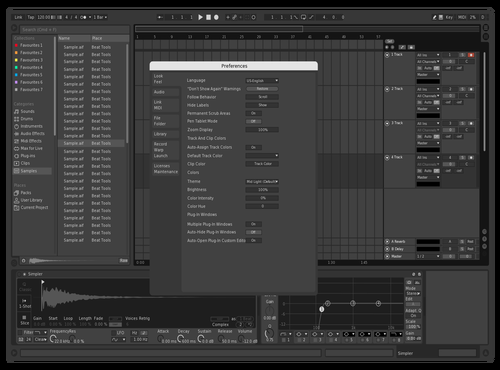 Abyss Theme for Ableton 10 by Skorpian