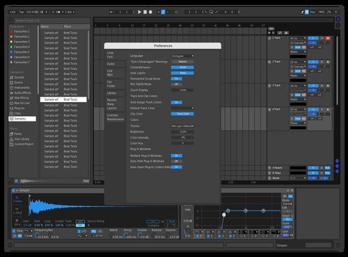 Blue2 Theme for Ableton 10 by blusish