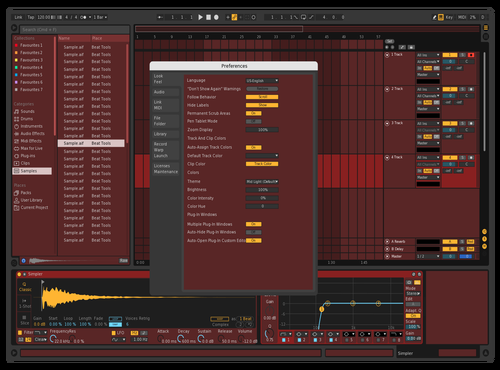 Red Theme for Ableton 10 by Oleg
