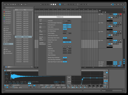 AllBlue Theme for Ableton 10 by Prashis Meshram
