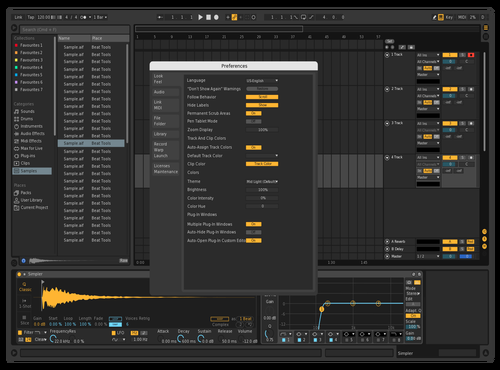 Dark 2 Theme for Ableton 10 by Danny Urbanski