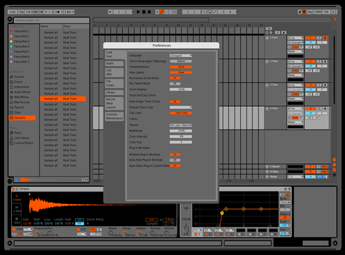 OrangeDefult Theme for Ableton 10 by Logan