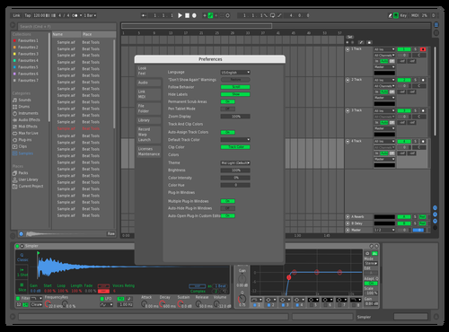 IBad RedGreenBlue Theme for Ableton 10 by iBad72