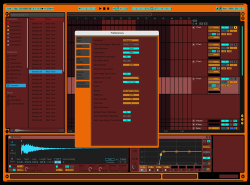Bordolino Theme for Ableton 10 by faki