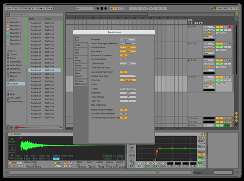 Crisp green Theme for Ableton 10 by Keith Meldrum
