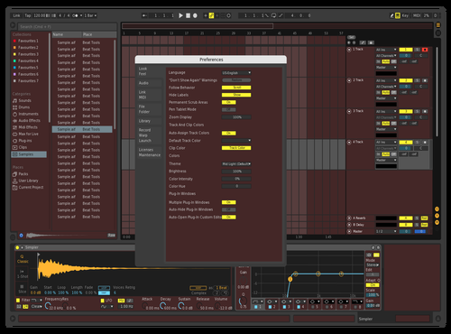 Dmitry3 Theme for Ableton 10 by dmitry
