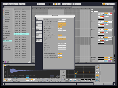 Light Theme Theme for Ableton 10 by David Mbozi