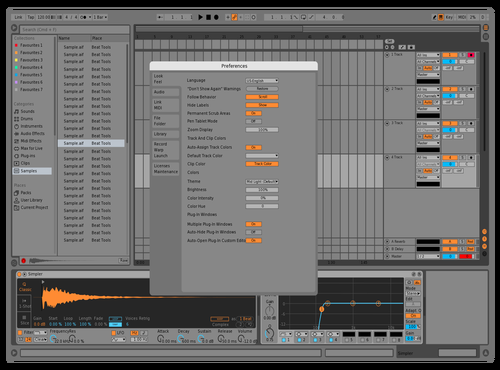 Ugly but proud Theme for Ableton 10 by Loki