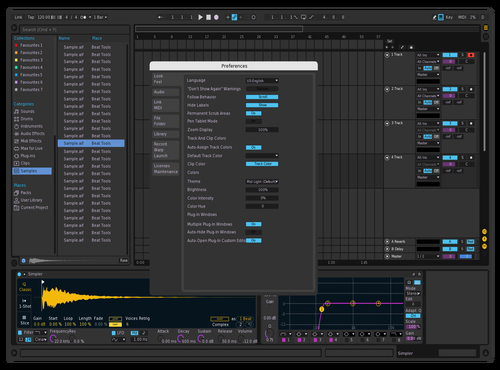 PurpXblue Theme for Ableton 10 by Christopher Ramos