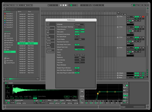 Mint - Edit Theme for Ableton 10 by Braxton