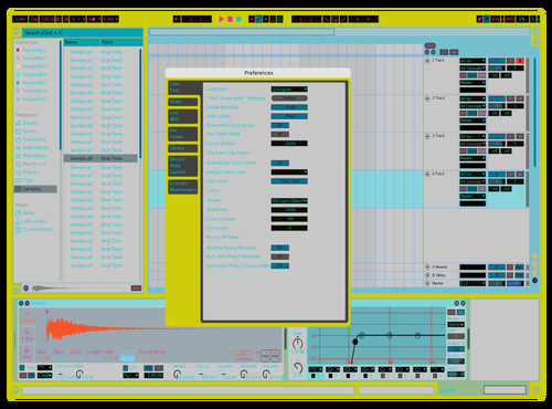 ZLYME Theme for Ableton 10 by Fletcher Hendrickson