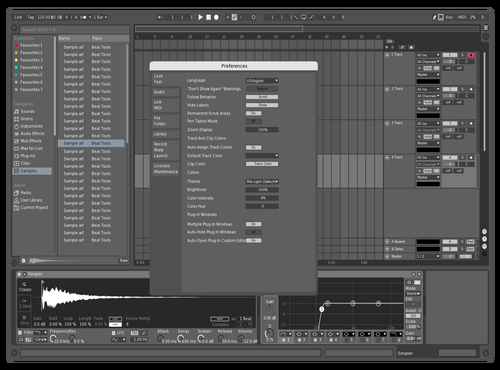 ABMF Theme for Ableton 10 by djmostafae