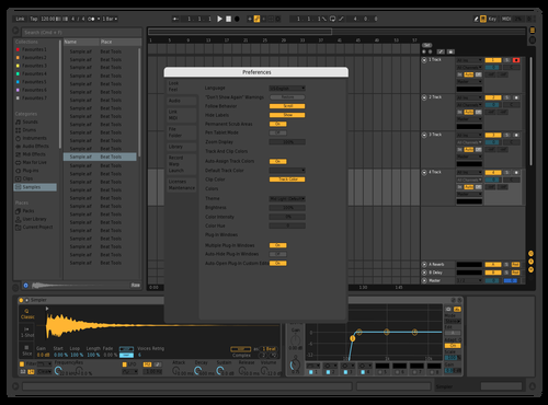 Grf Theme for Ableton 10 by werteve