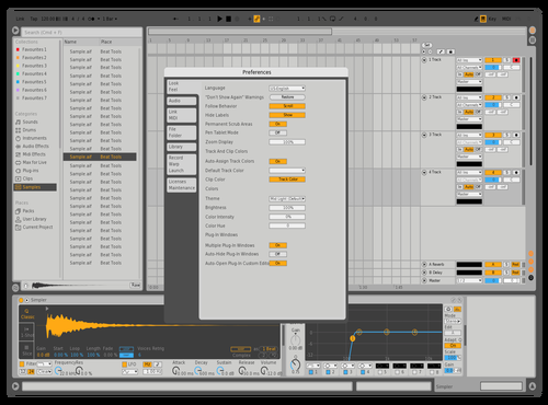 Bob Theme for Ableton 10 by 6