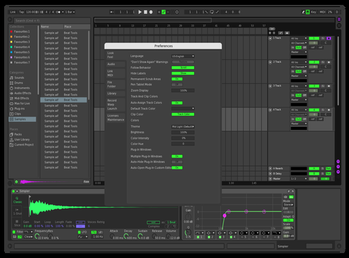 TRYPLé Theme for Ableton 10 by eater