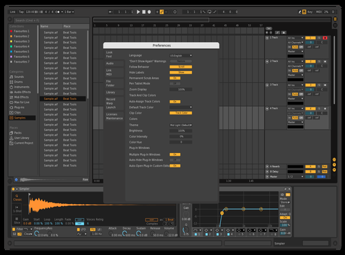 Mid Dark Theme for Ableton 10 by BLESSKO